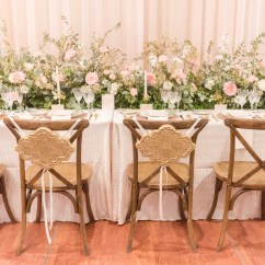 Chair Covers And Linens Indianapolis Ebay Plastic A Classic Party Rental At The Monthly Bridal Show 21 Jpg