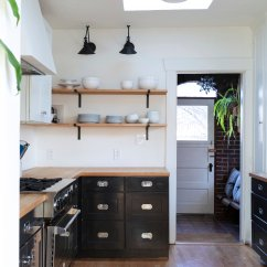 Dexter Kitchen Lowes Track Lighting House A Few Updates Maintenance The Grit And Polish Cabinets Open Shelves Before Jpg
