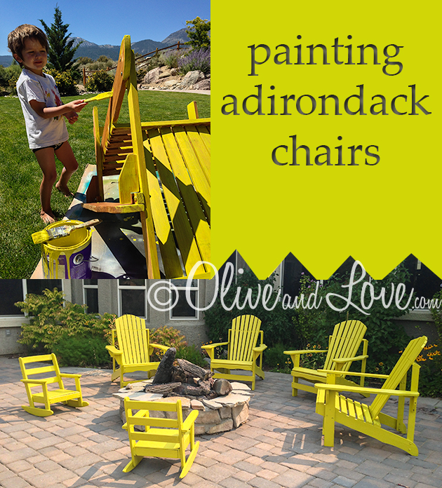painted adirondack chairs chair cover hire wigan painting the olive love