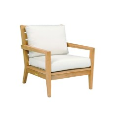 Kingsley Bate Amalfi Club Chair Hans Wegner Lounge Replica Teak Lounging Table Outdoor Algarve