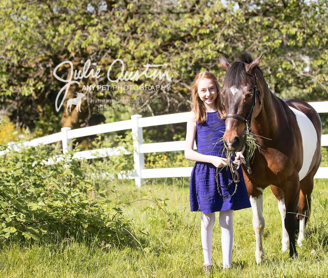 Horses Cats Very Happy Girls Julie Austin Photography
