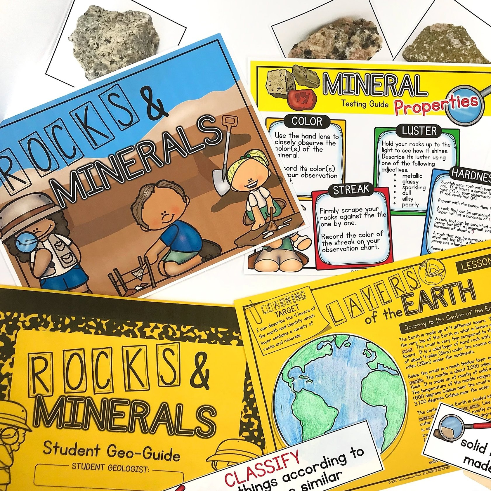 hight resolution of Getting Ready to Teach Rocks and Minerals — THE CLASSROOM NOOK