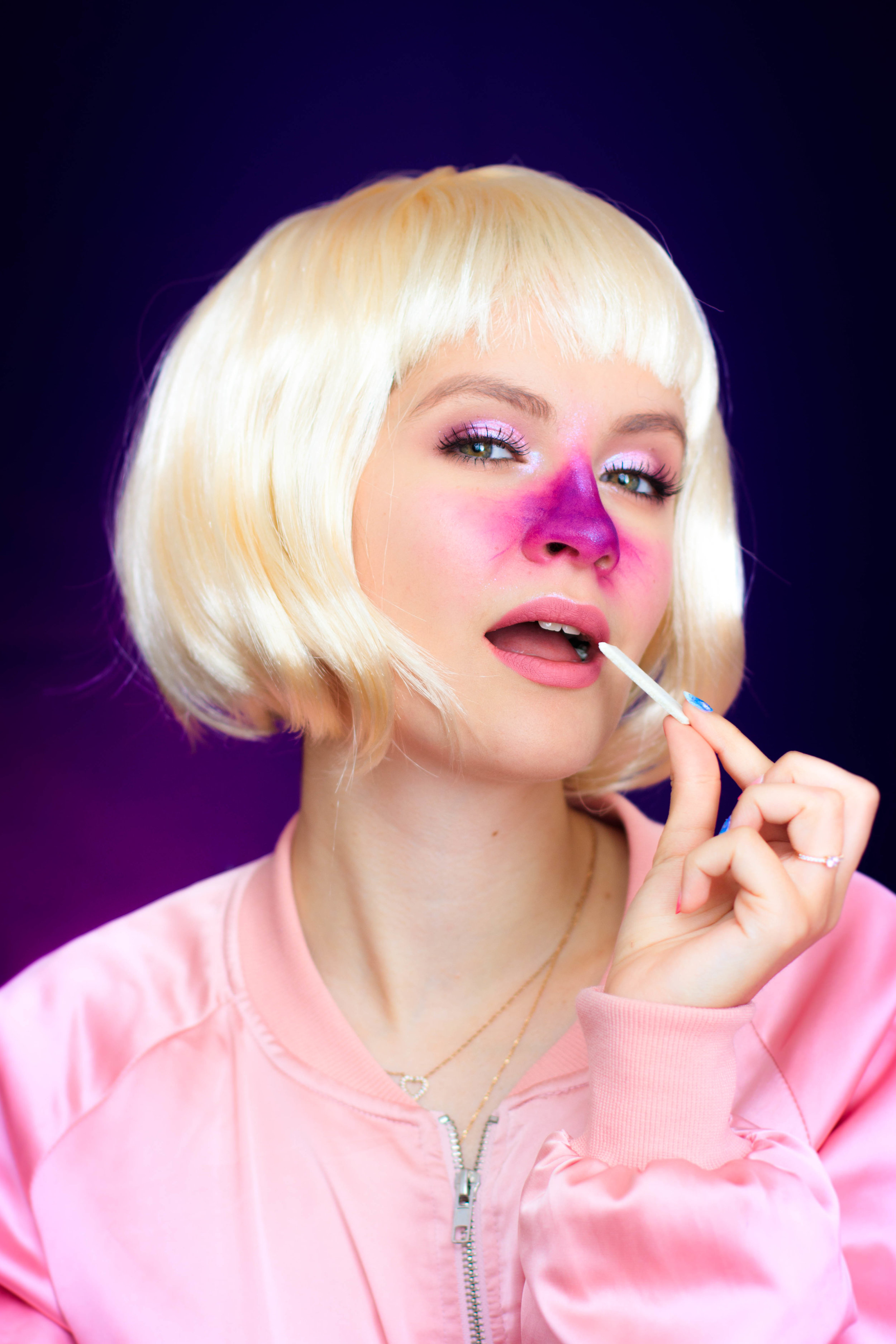 Charlie Et La Chocolaterie Violette : charlie, chocolaterie, violette, Halloween, Makeup, Charlie, Chocolaterie, Violette, Beauregard, Pauuulette