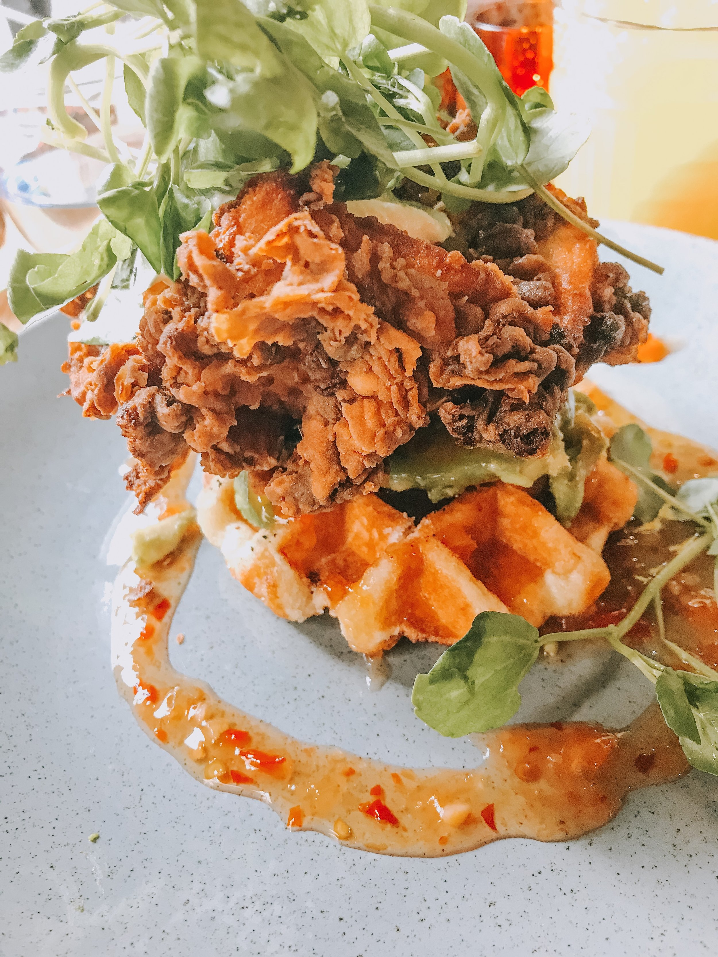 The Folly, Chicken waffle