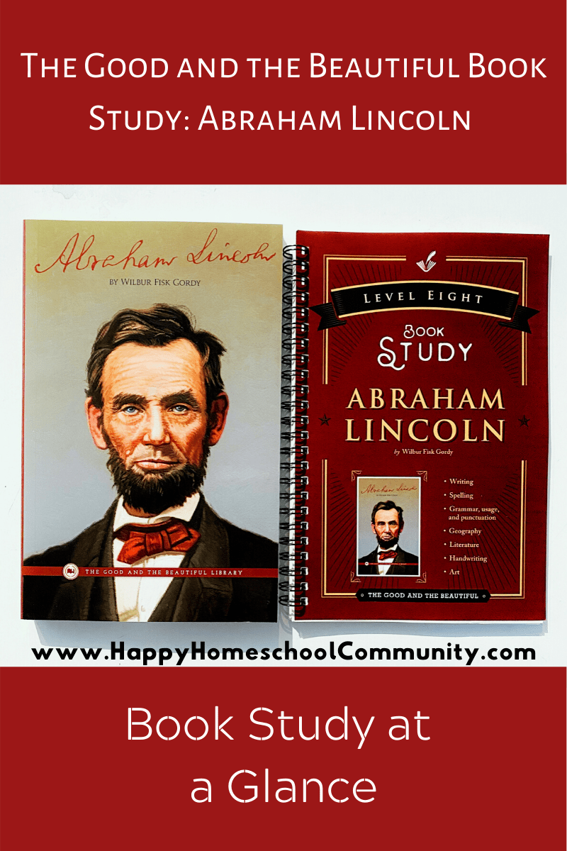 hight resolution of The Good and the Beautiful Book Study: Abraham Lincoln Review — The Happy  Homeschool Community