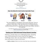 Behavior Intervention Specialist Newsletter Grove Patterson Academy