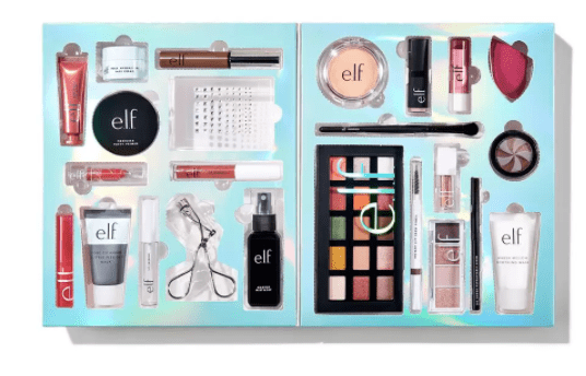 e.l.f. THE E.L.F.-STRAVAGANZA 24 DAY ADVENT CALENDAR  $75- $105 value