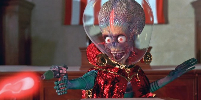 Image result for mars attacks film