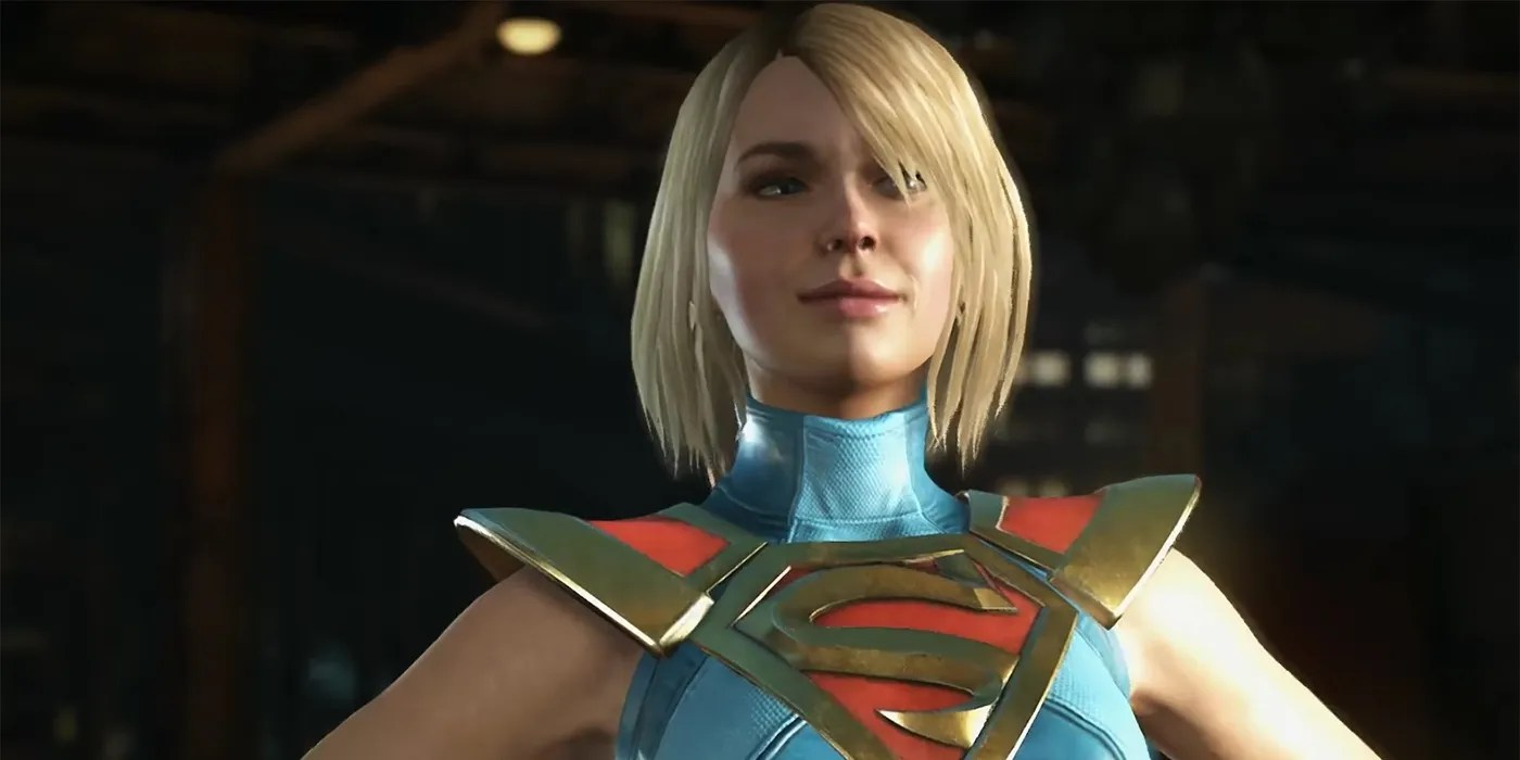 Wallpaper Brazil Girl Injustice 2 Supergirl Heat Vision Amp Super Move Gameplay