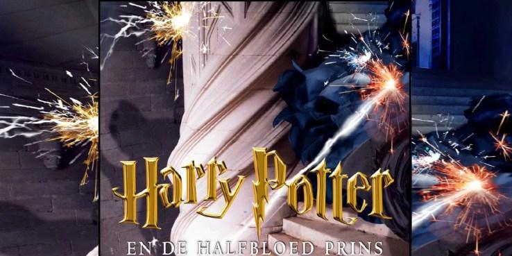 La edición holandesa de  Harry Potter y el Príncipe Mestizo.