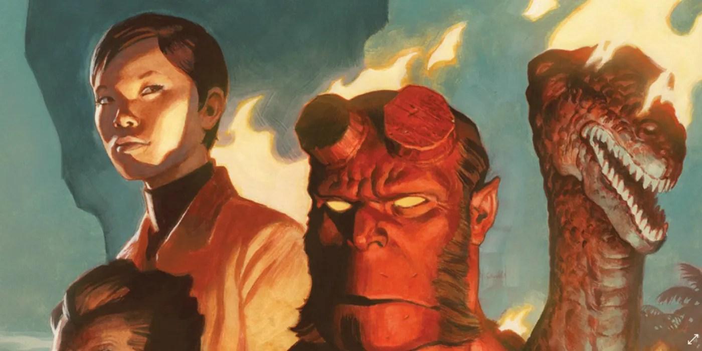 Hellboy Heads To Supernatural Jurassic Park In Burning