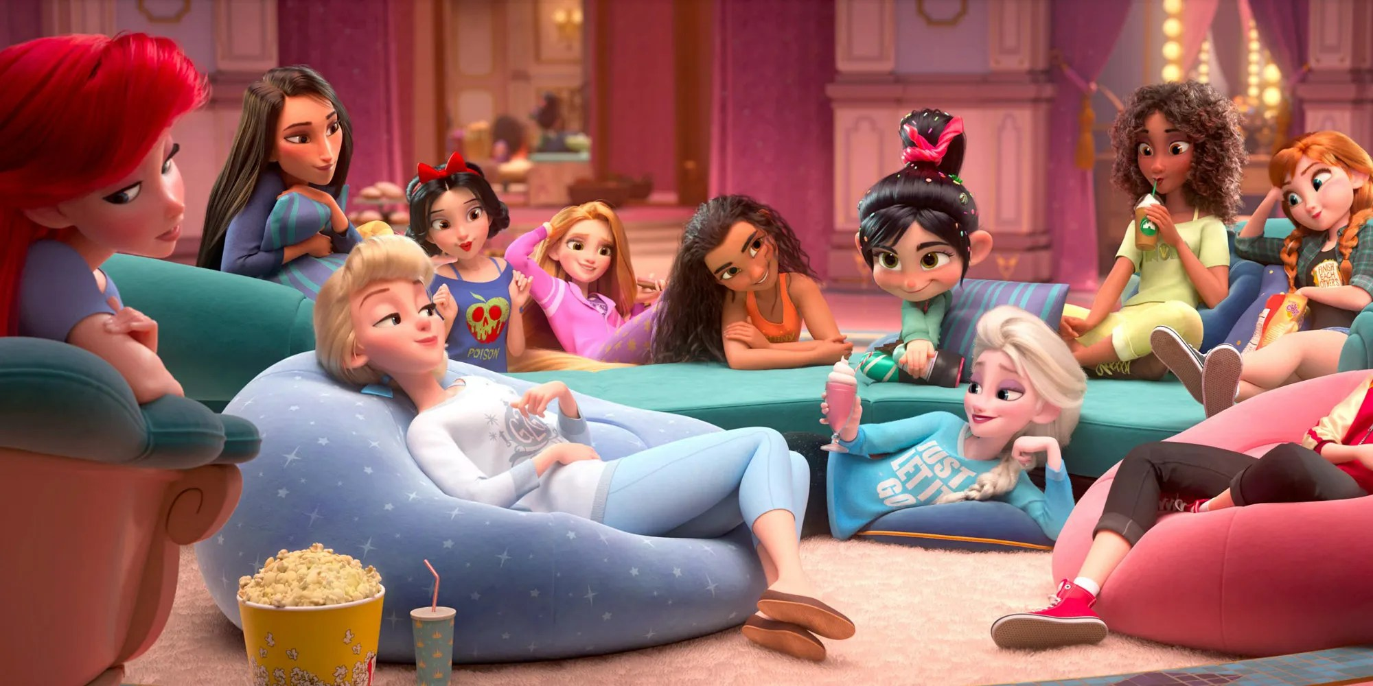 Cute Adventure Is Out There Wallpapers Disney Princesses Get Modern Makeovers In Wreck It Ralph 2