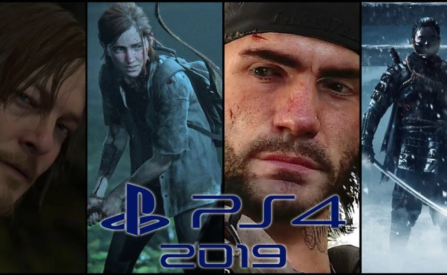 Playstation 4 Exclusive Games Coming In 2019 Screen Rant