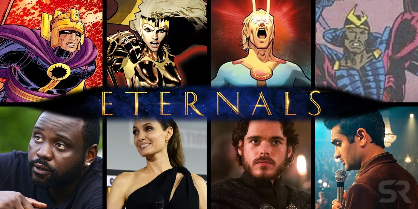 Marvels Eternals Movie Cast  Character Guide  ScreenRant