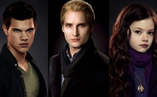 Twilight 10 Characters Who Deserve A Spin Off Series