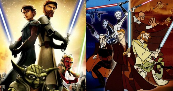 Star Wars 5 Things That Clone Wars 2003 Did Perfectly 5 Things That The Clone Wars 2008 Does Better
