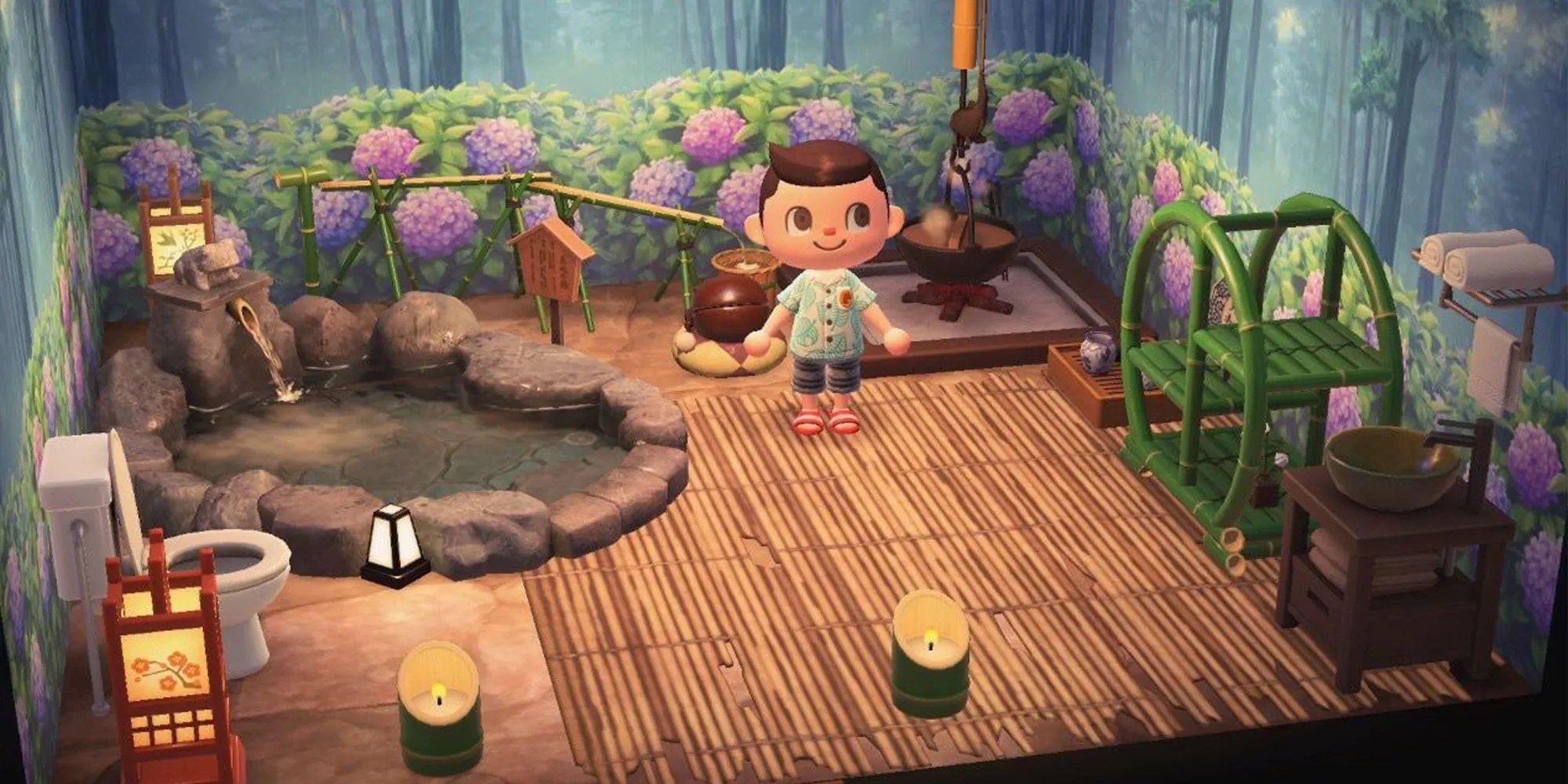 Animal Crossing New Horizons The Perfect Bathroom Design Tips Tricks