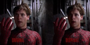 Tom Holland looks eerily similar to Tobey Maguire in the Spider-Man DeepFake video