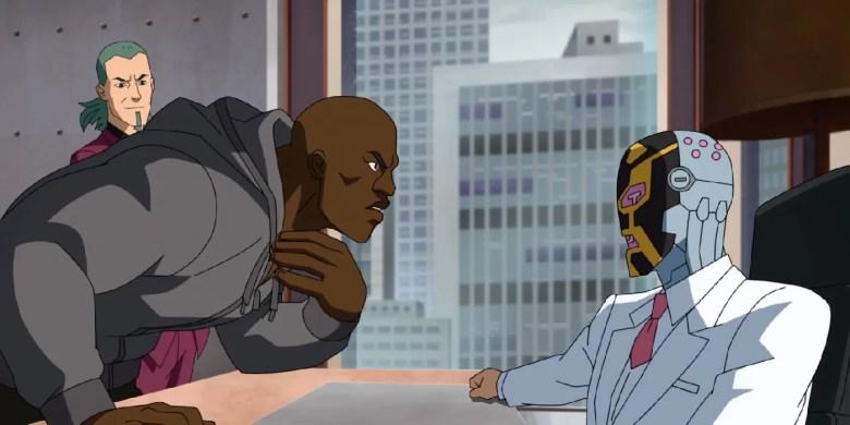 Titan & Machine Head Clash In Invincible Episode 5 Clip