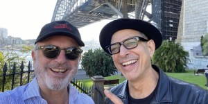 The new picture of Sam Neill and Jeff Goldblum fuels rumors about the camera