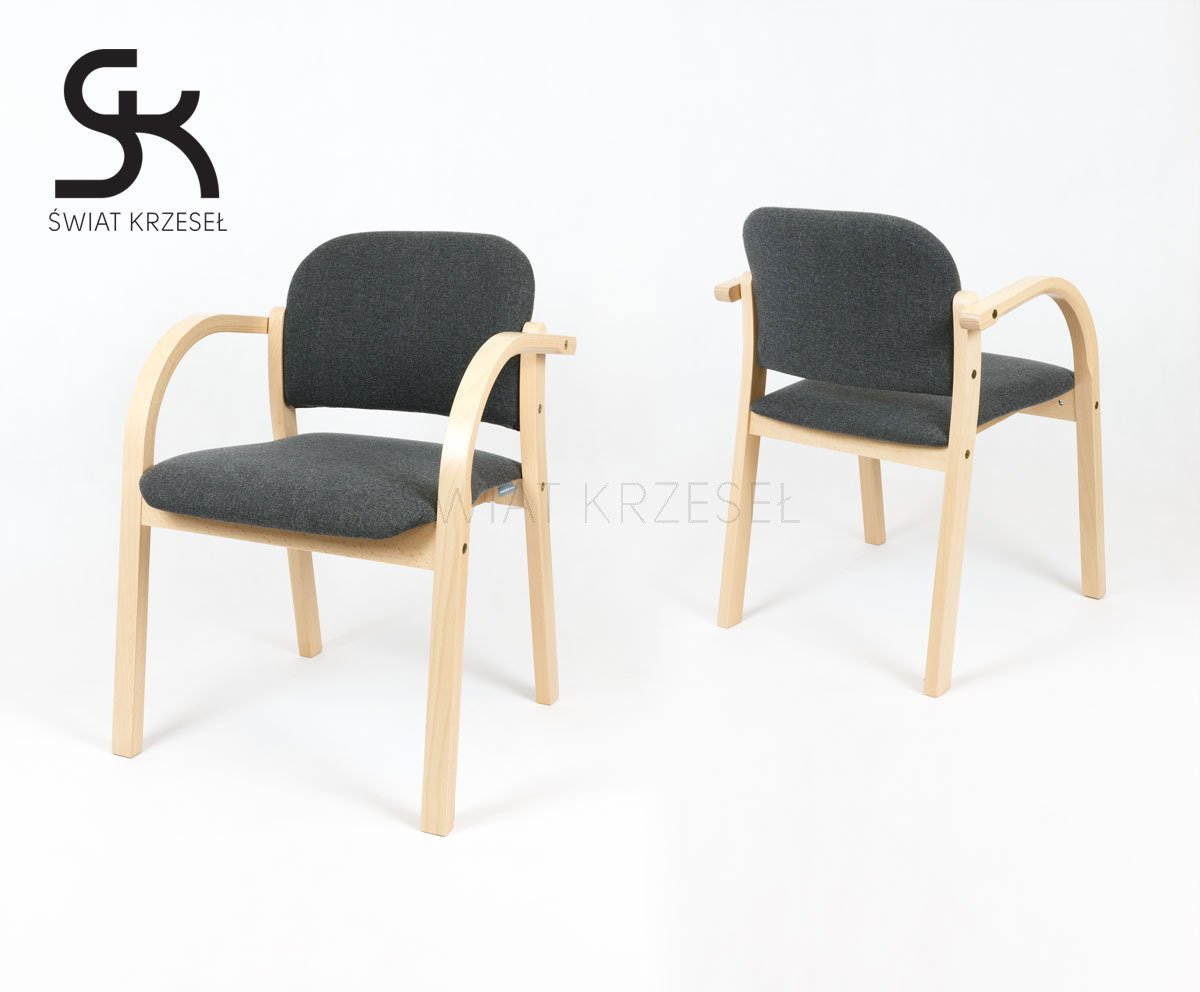 Kitchen Chairs Wood Ske Nowy Styl Elva Upholstered Wooden Chair