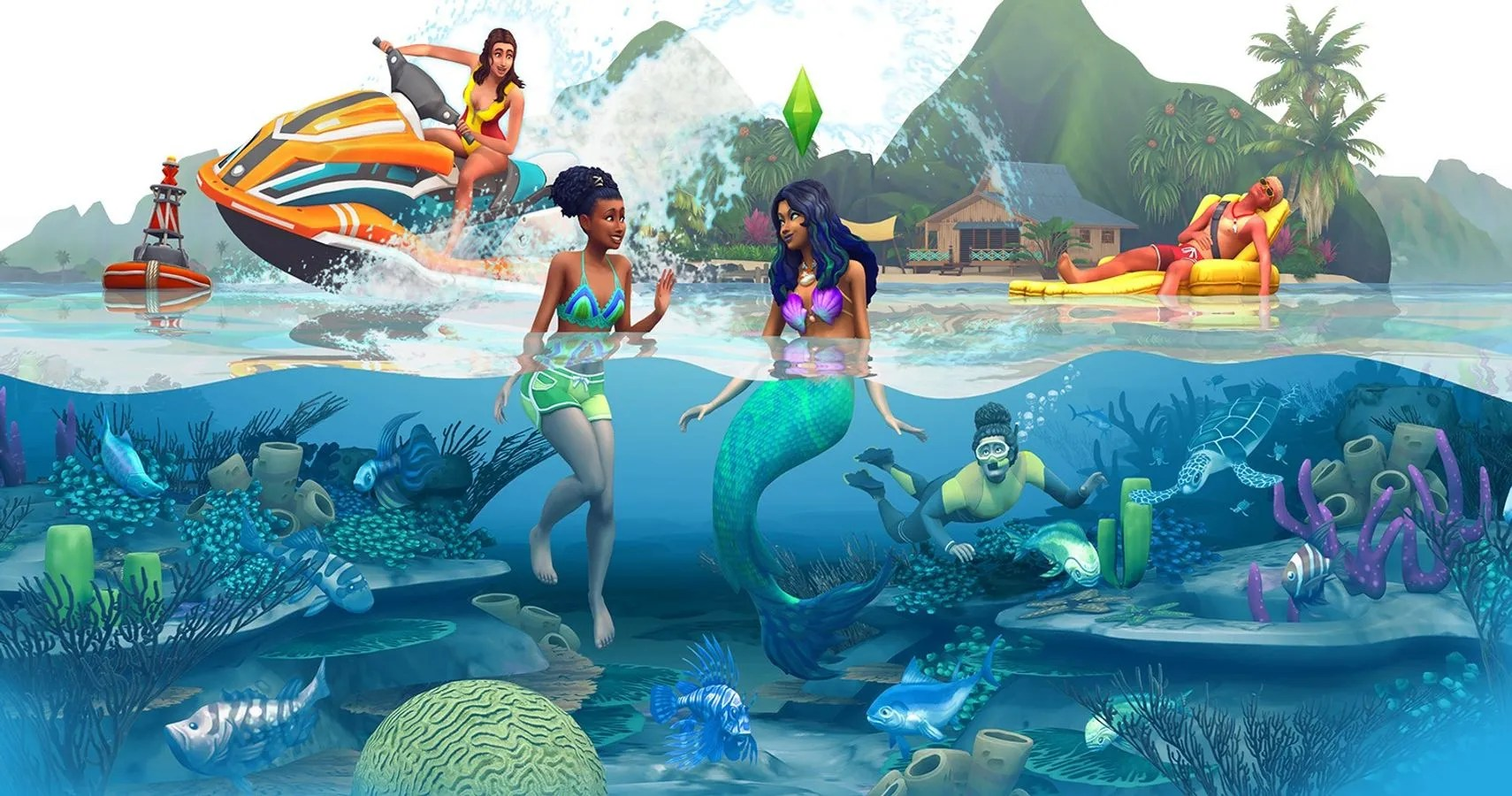 The Sims 4 Island Living Expansion Pack Announced  Thegamer