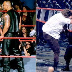 Wrestling Chair Shots Broyhill Club 15 Things You Didnt Know About Stone Cold And The Rocks