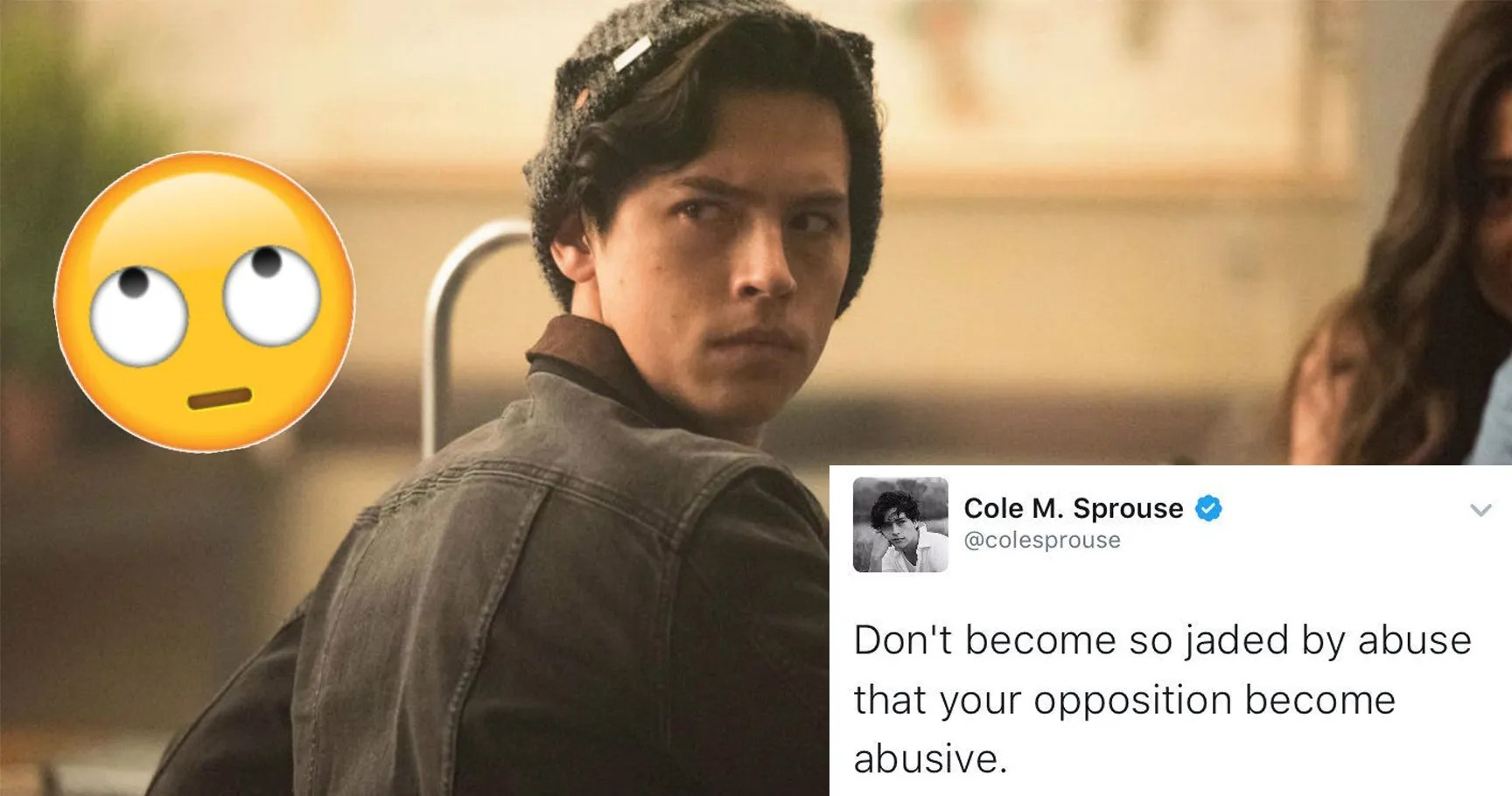 Riverdale Wallpaper Quotes Cole Sprouse Is A Horrible Person 15 Examples Thethings