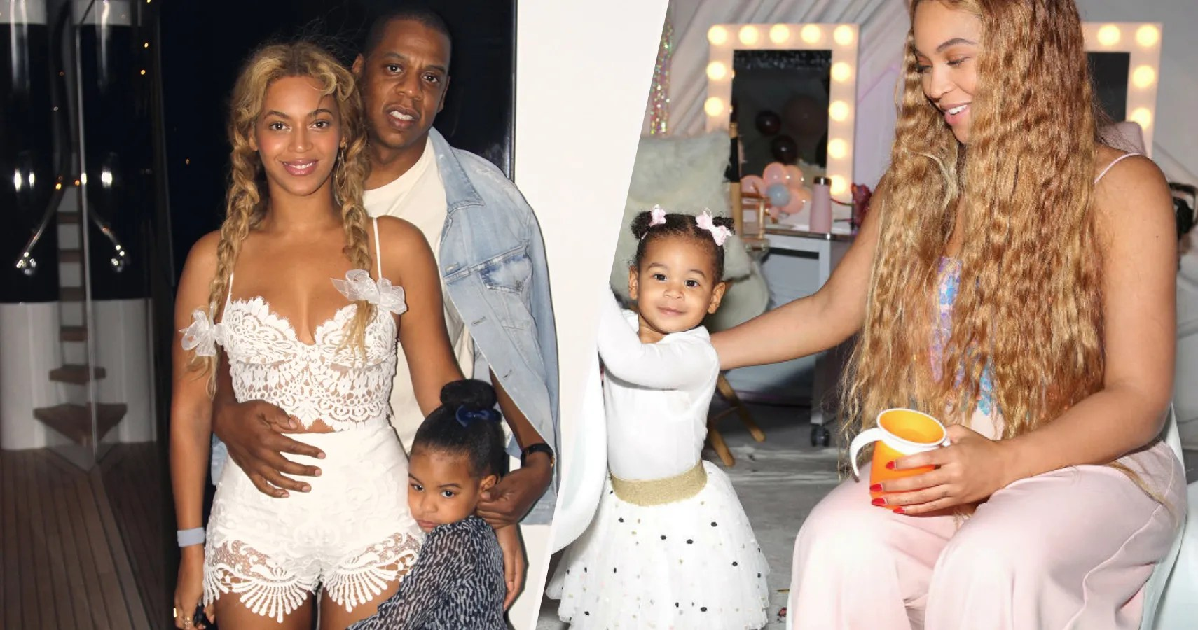 20 photos of beyonce and jay z s family