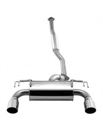 R33 APEXi 304 SS Cat-Back Exhaust System Piping Diameter 3