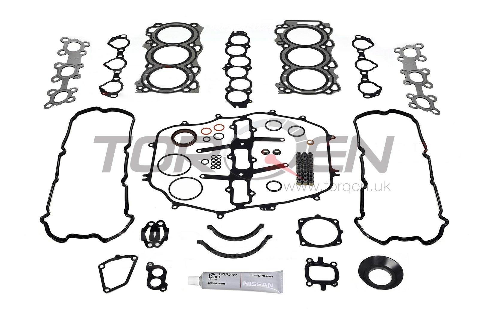 350z De Nissan Oem Engine Gasket Kit 03 04