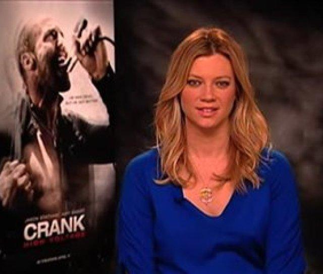 Amy Smart Crank High Voltage Interview 2009