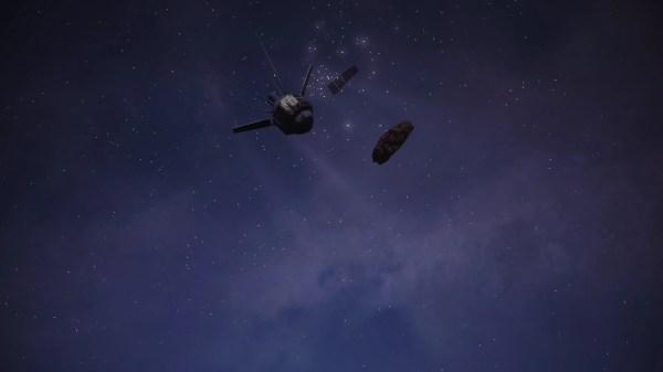 Night Sky Satellite