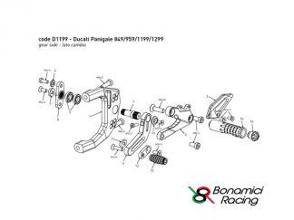 Accessori e ricambi Ducati PANIGALE 899