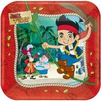 Jake and the Neverland Pirates Dessert Plates (8ct ...