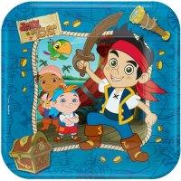 Jake and the Neverland Pirate Dinner Plates (8ct) - Ziggos.com