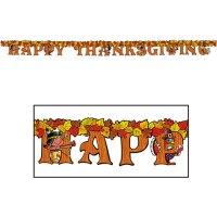 Happy Thanksgiving Letter Banner - Ziggos.com