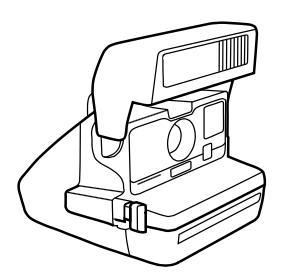 Цветная кассета для Polaroid 600 / 635 / 636