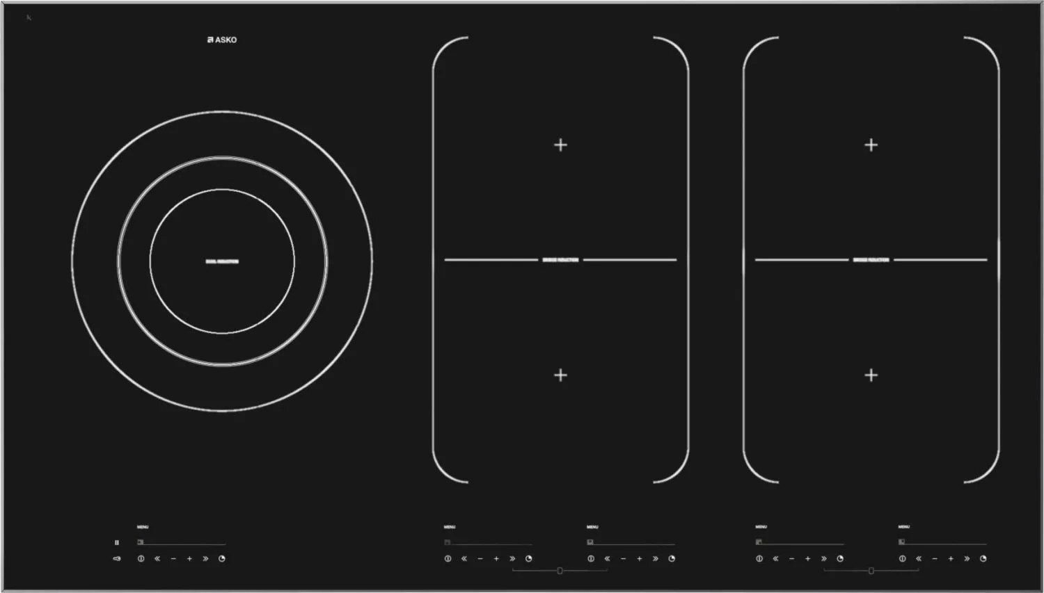 hight resolution of pro series induction cooktop hi1975g