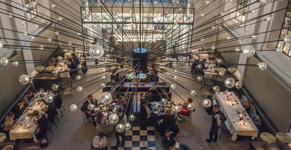 Il ristorante The Jane ad Anversa
