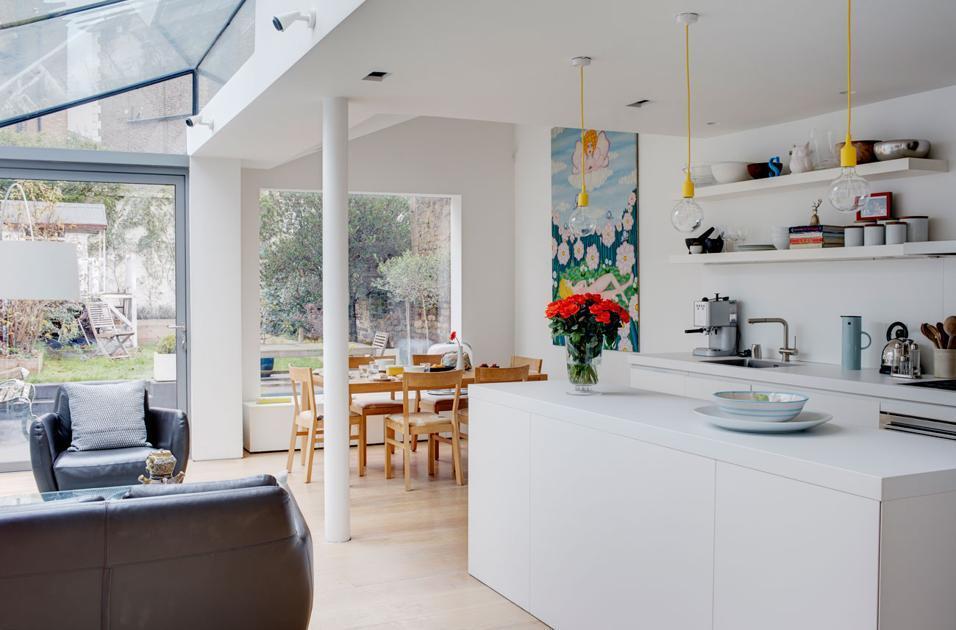 Un appartamento progettato in stile americano è caratterizzato dall' Cucina A Vista 35 Idee E Soluzioni Per Arredare