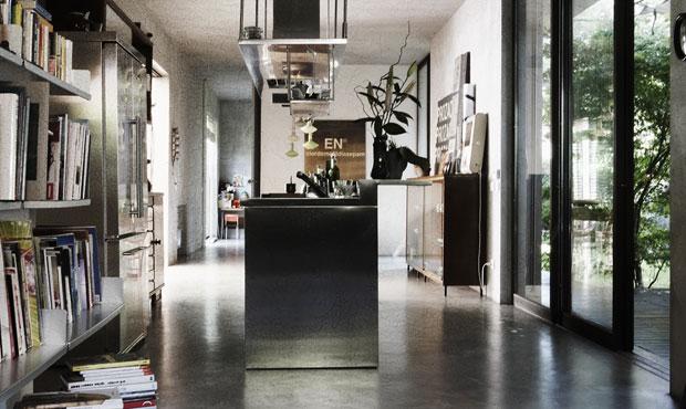 Loft con giardino  LivingCorriere