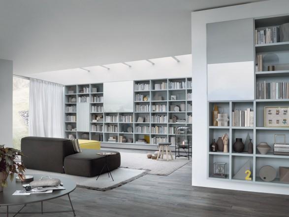 Librerie su misura  Living Corriere