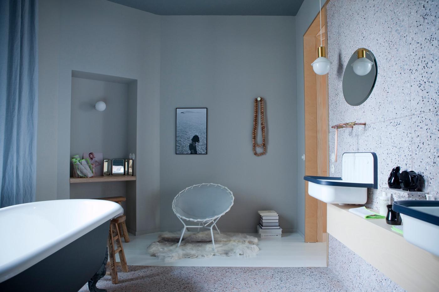 Decorare le pareti del bagno LivingCorriere