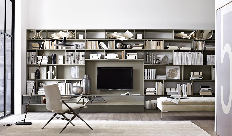 La parete attrezzata per il soggiorno 25 idee di design  Living Corriere