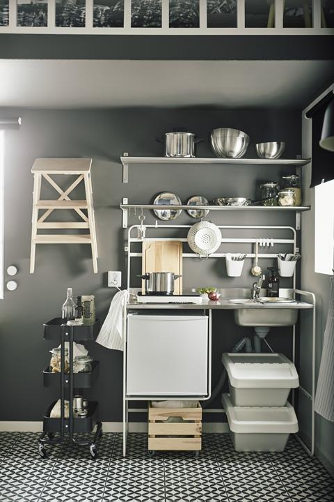 Date un'occhiata a queste foto e liberate la vostra creatività…. Mini Cucine Ikea Le Soluzioni Salvaspazio Che Non Ti Aspetti Foto 1 Livingcorriere