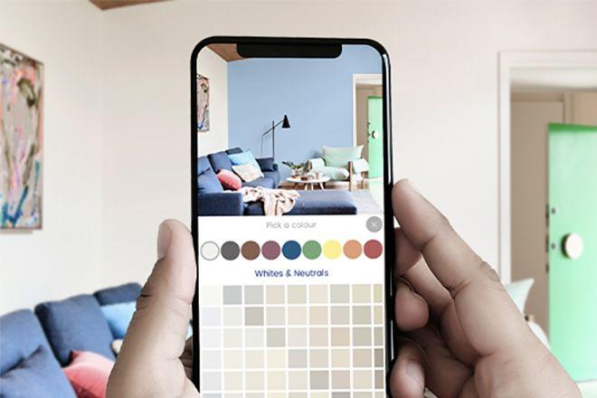 Ti chiedendo quali sono i colori di tendenza per le pareti 2021? 6 App Per Provare Il Colore Delle Pareti Living Corriere