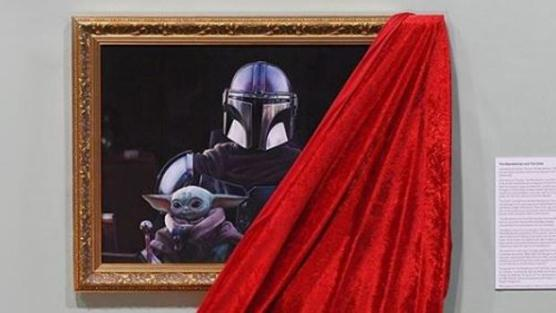 La National Portrait Gallery de Londres expone un retrato de Baby Yoda