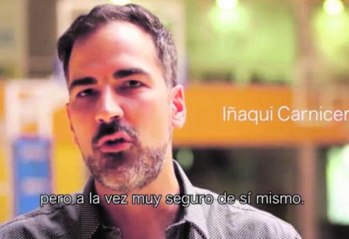 Ignacio Carnicero habla de su amigo Pedro Sánchez en uno de los vídeos de la campaña de las primarias del PSOE (2014)