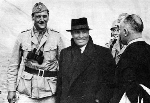 Skorzeny, durante la liberación del Duce